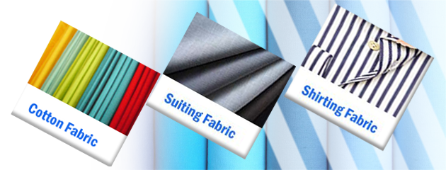 Shirting & Suiting Fabric's